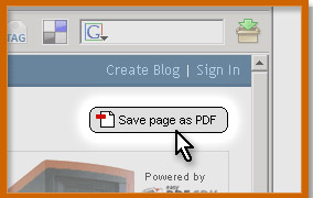 Web2PDF -HTML to PDF coverter for your blog